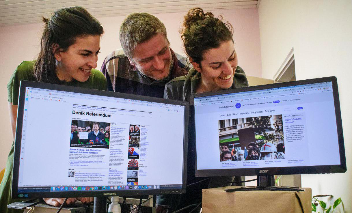 Nový web Deníku referendum