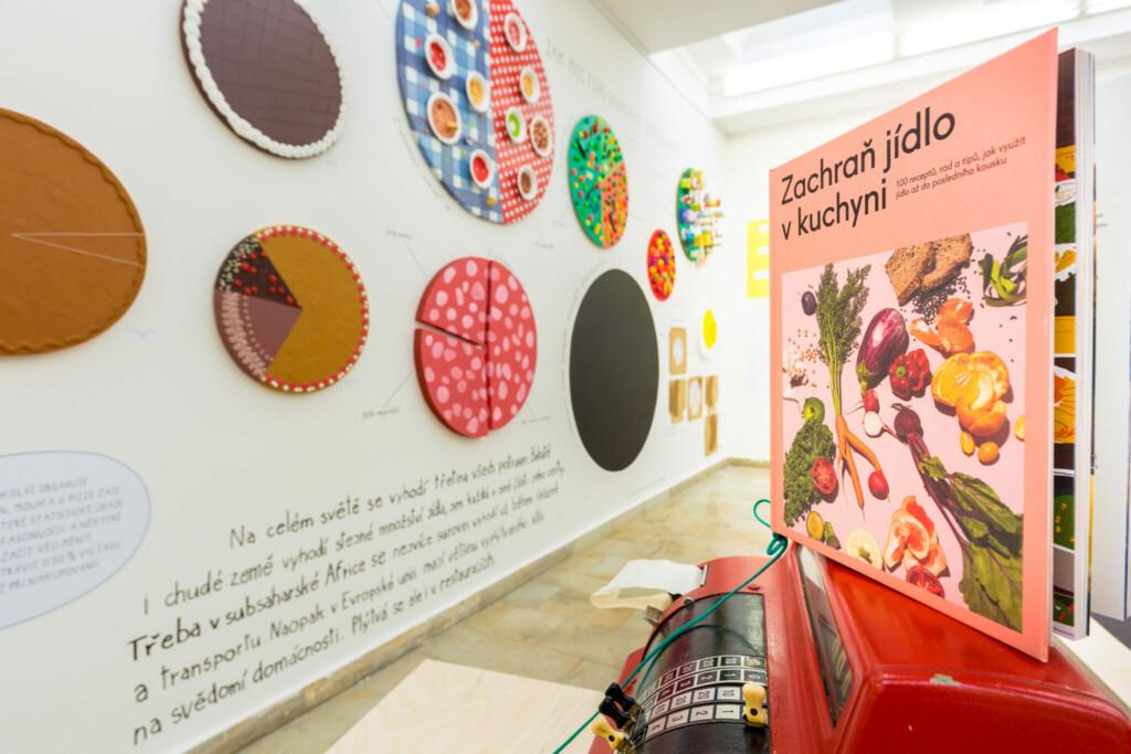 Interaktivní výstavní projekt Zachraň jídlo! vpražské Galerii Atrium