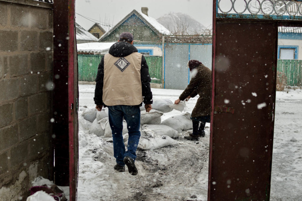 Humanitární pomoc na Ukrajině