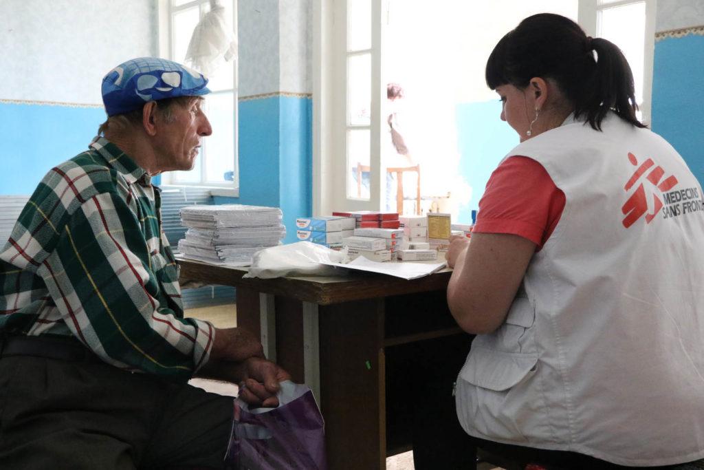 MSF Activities in Ukraine