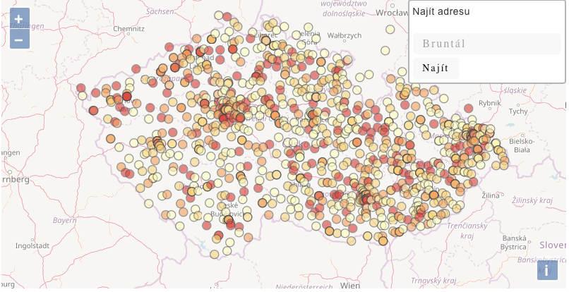 Mapujeme eurodotace
